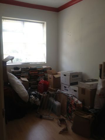 The week we moved in