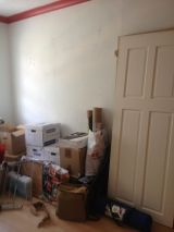 The week we moved in.