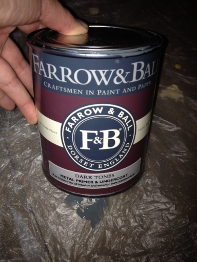 Farrow & Ball Primer for Dark Tones (for metal)