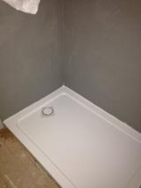 We built around this shower tray