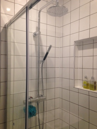 Very happy with the double shower