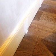 New skirting boards