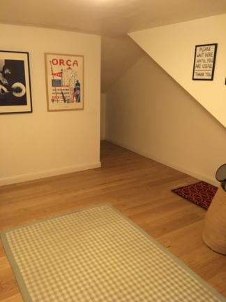New floor down